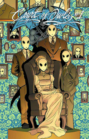 Batman and Robin #23.2: The Court of Owls Standard Cover