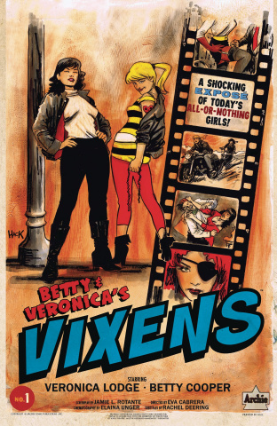 Betty & Veronica: Vixens #1 (Hack Cover)