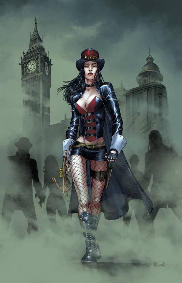 Grimm Fairy Tales: Van Helsing #3 (Miller Cover)