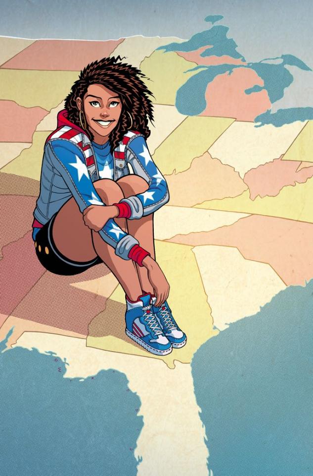America #3 (Moore Cover)
