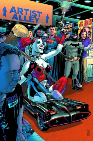 Batman / Superman #19 (Harley Quinn Cover)