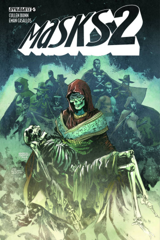 Masks 2 #5 (Subscription Cover)