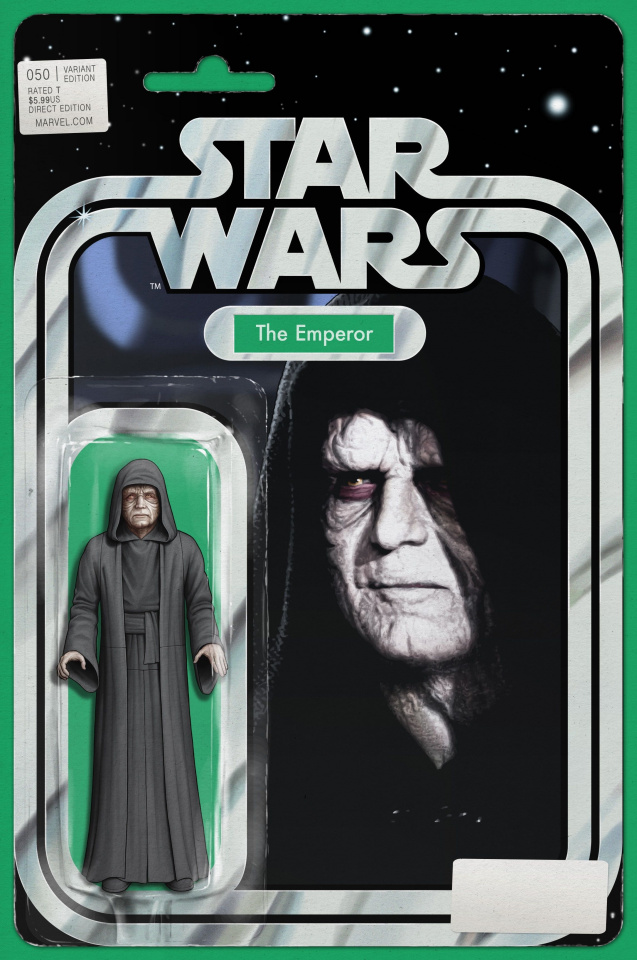 Star Wars #50 (Christopher Action Figure Cover)