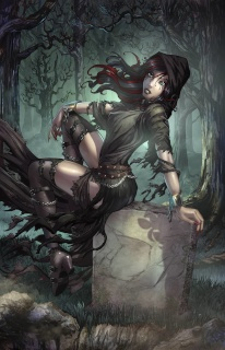 Grimm Fairy Tales: Grimm Tales of Terror #12 (Ehnot Cover)