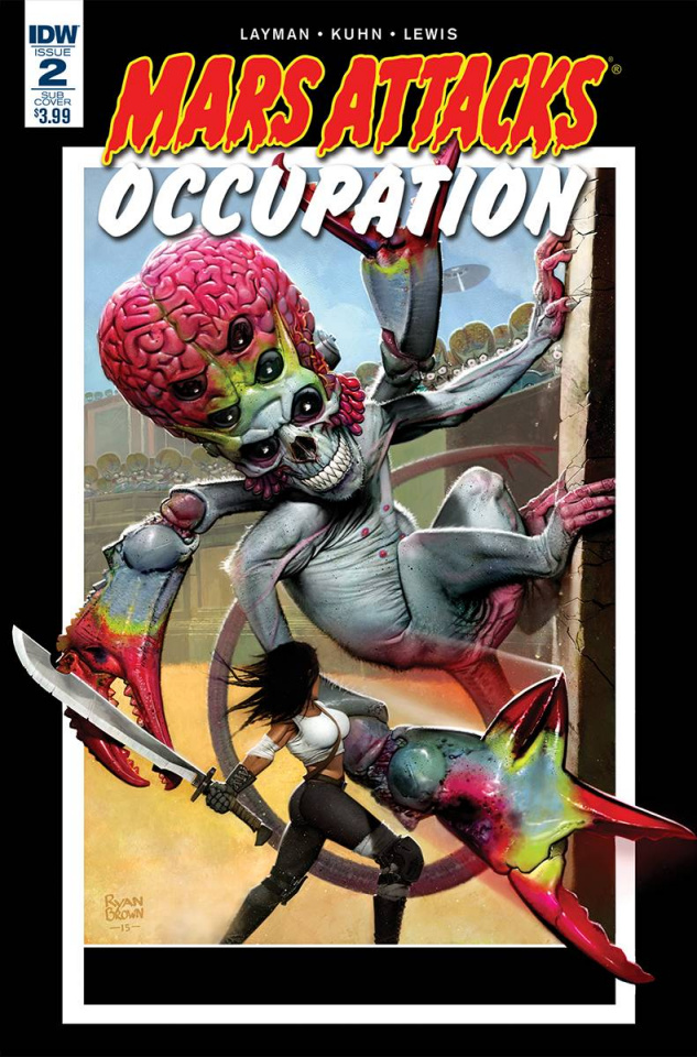 Mars Attacks: Occupation #2 (Subscription Cover)