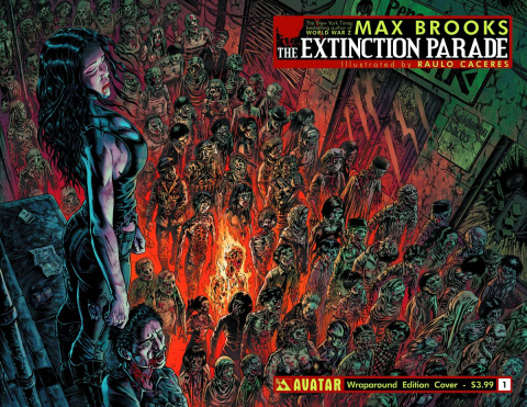 The Extinction Parade #1 (Wrap Cover)