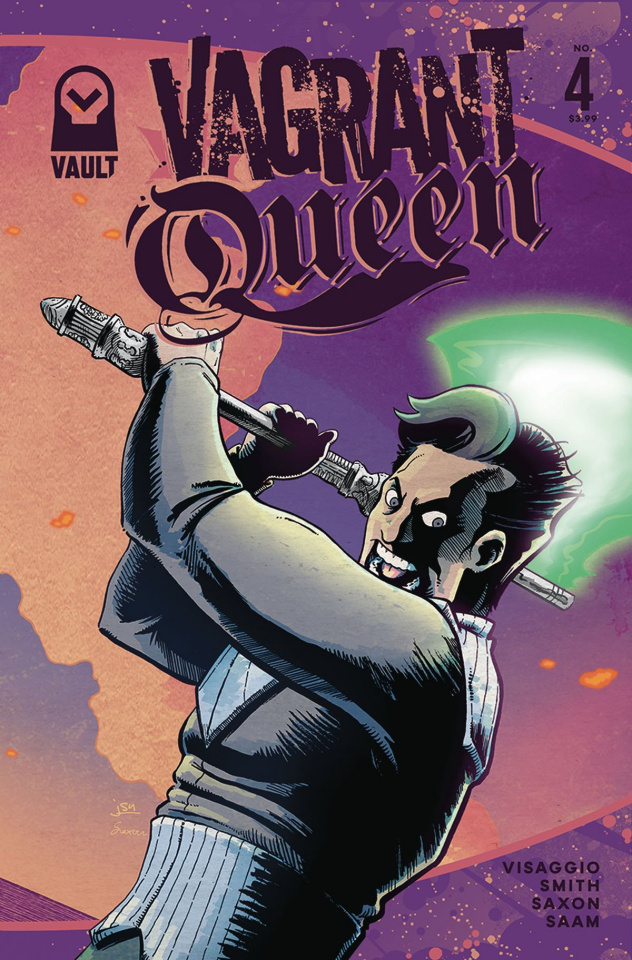 Vagrant Queen #4 (Smith Cover)