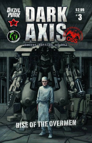 Dark Axis: Rise of the Overmen #3
