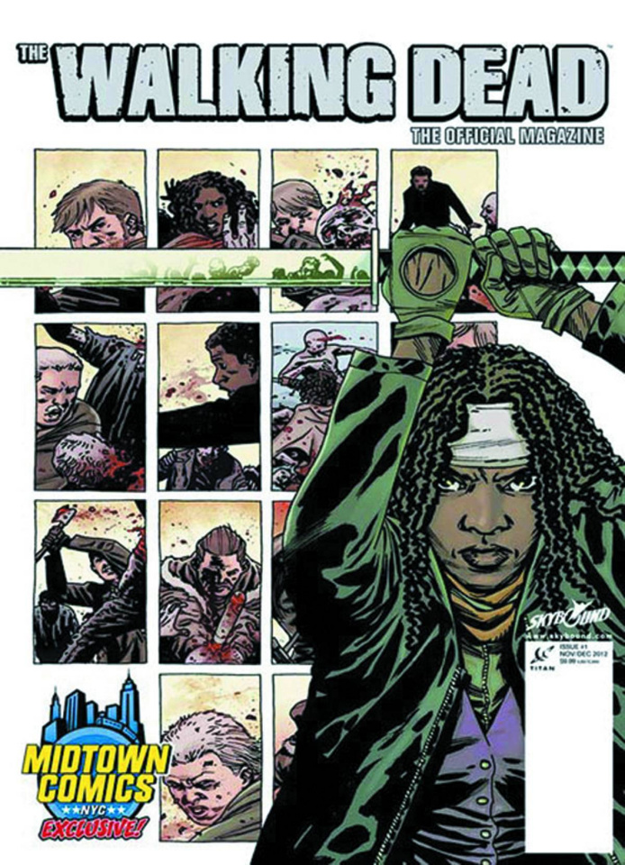 The Walking Dead Magazine #1 (Midtown Michonne Cover)