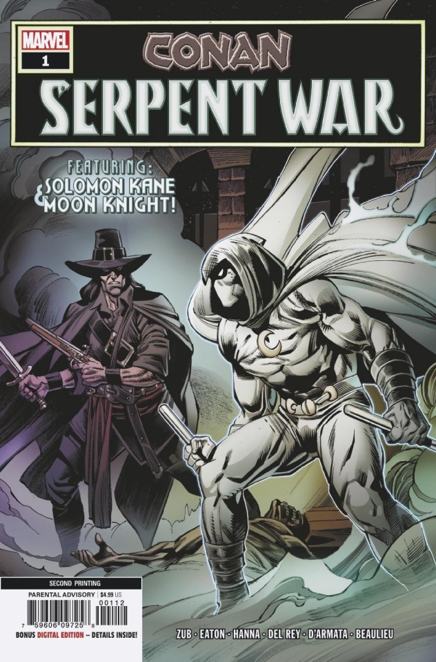 Conan: Serpent War #1 (Eaton 2nd Printing)