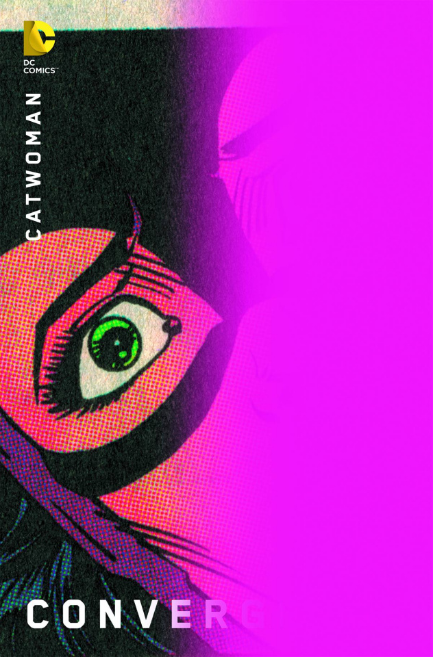 Convergence: Catwoman #1 (Chip Kidd Cover)