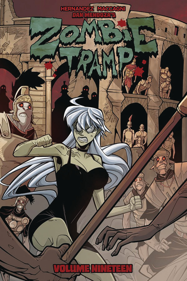 Zombie Tramp Vol. 19: Dead Girl in Europe