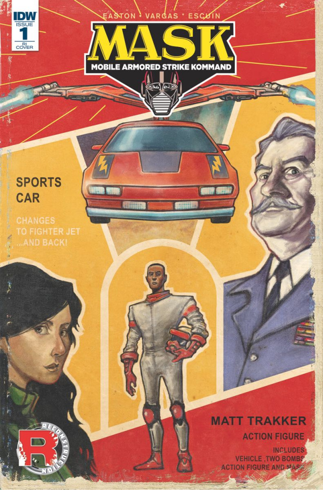 M.A.S.K.: Mobile Armored Strike Kommand #1 (25 Copy Cover)