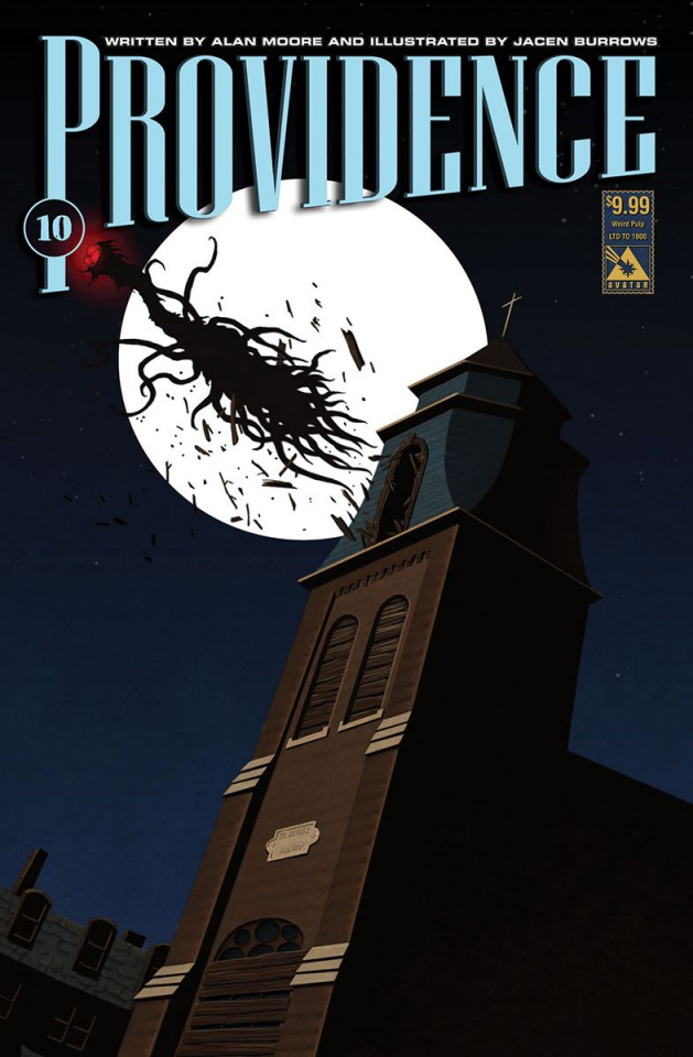 Providence #10 (Weird Pulp Cover)