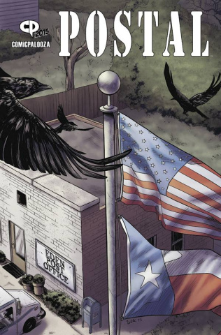 Postal #4 (Comicpalooza Cover)