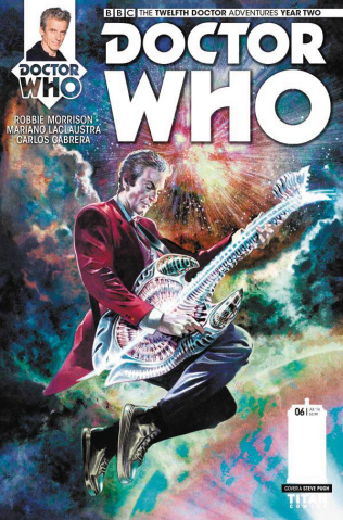 Doctor Who: New Adventures with the Twelfth Doctor, Year Two #6 (Pugh Cover)