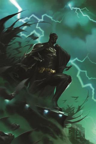 Future State: The Next Batman #2 (Francesco Mattina Card Stock Cover)