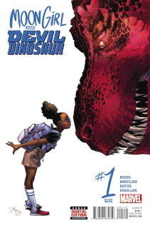 Moon Girl and Devil Dinosaur #1 (Reeder 2nd Printing)