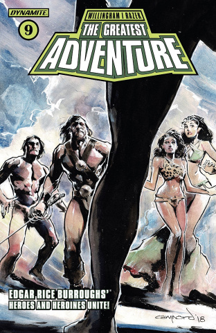 The Greatest Adventure #9 (Nord Cover)