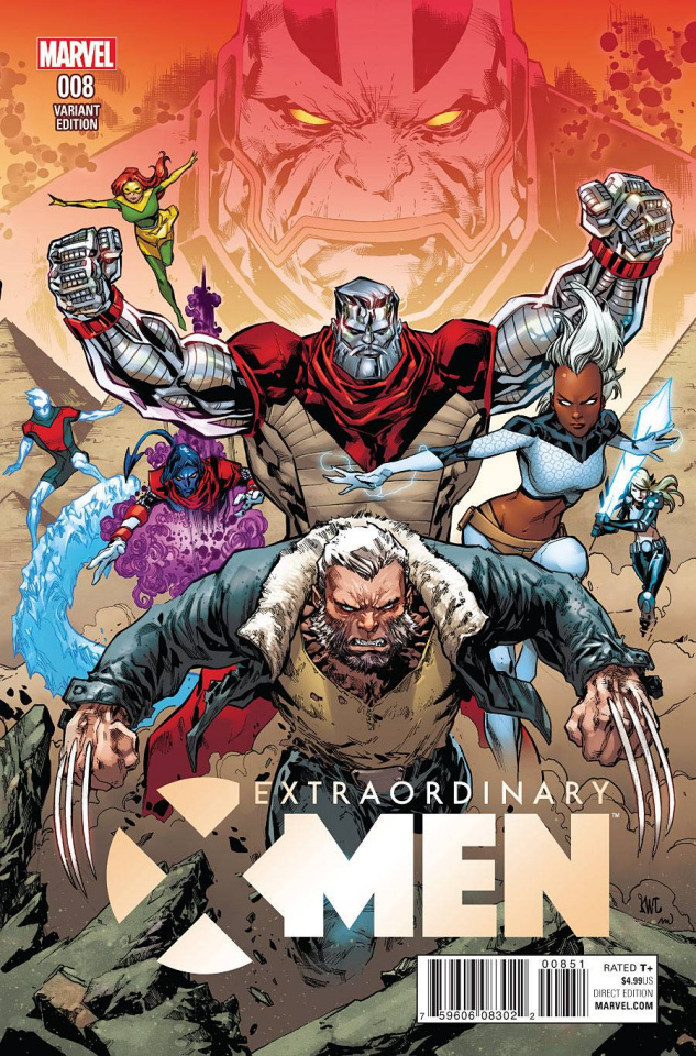Extraordinary X-Men #8 (Lashley Connecting Cover)