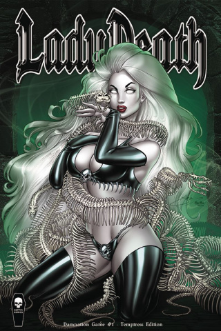 Lady Death: Damnation Game #1 (Temptress Cover)