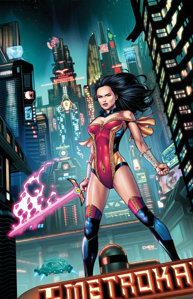 Grimm Fairy Tales #52 (Chen Cover)