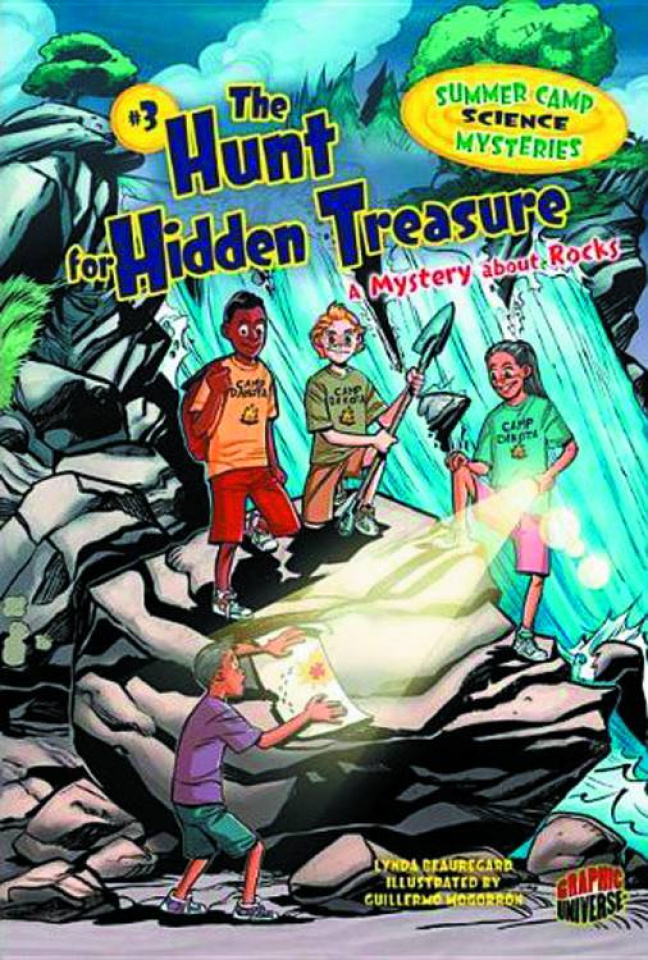 Summer Camp Science Mysteries Vol. 3: The Hunt for Hidden Treasure