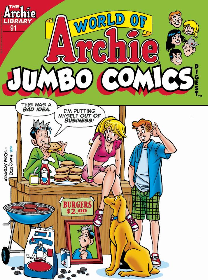 World of Archie Jumbo Comics Digest #91