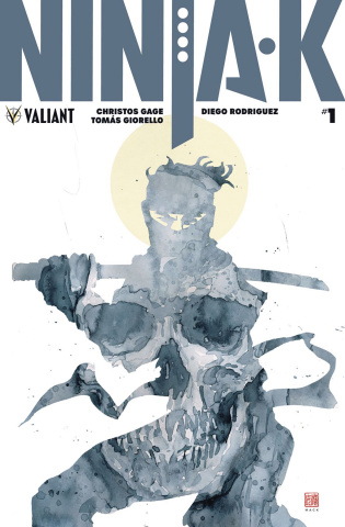 Ninja-K #1 (50 Copy Icon Mack Cover)