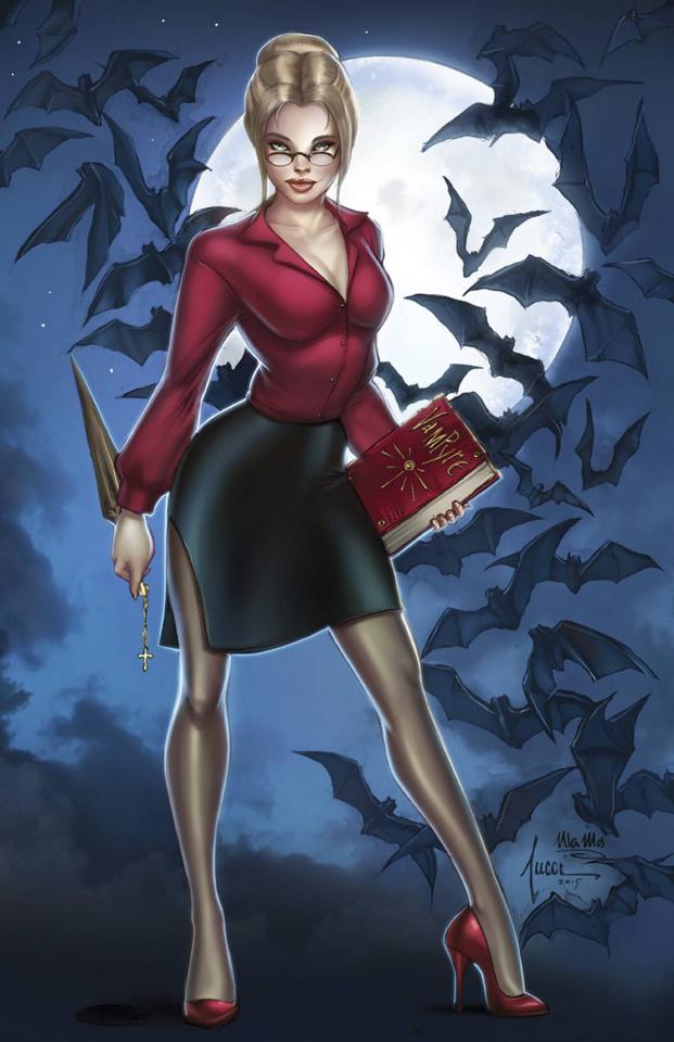 Grimm Fairy Tales: Van Helsing vs. Dracula #1 (Tucci Cover)