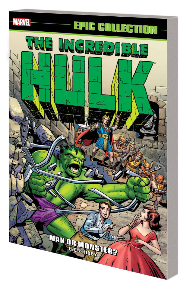 The Incredible Hulk: Man or Monster? (Epic Collection)