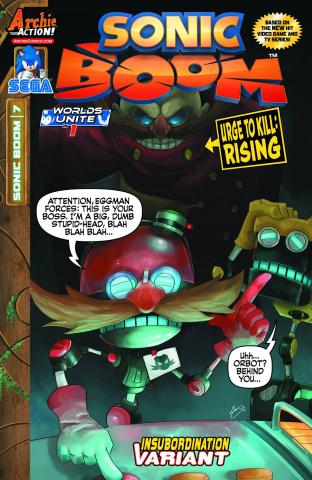 Sonic Boom #7 (Insubordination Cover)