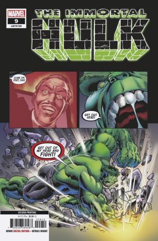 The Immortal Hulk #9 (Bennett 2nd Printing)