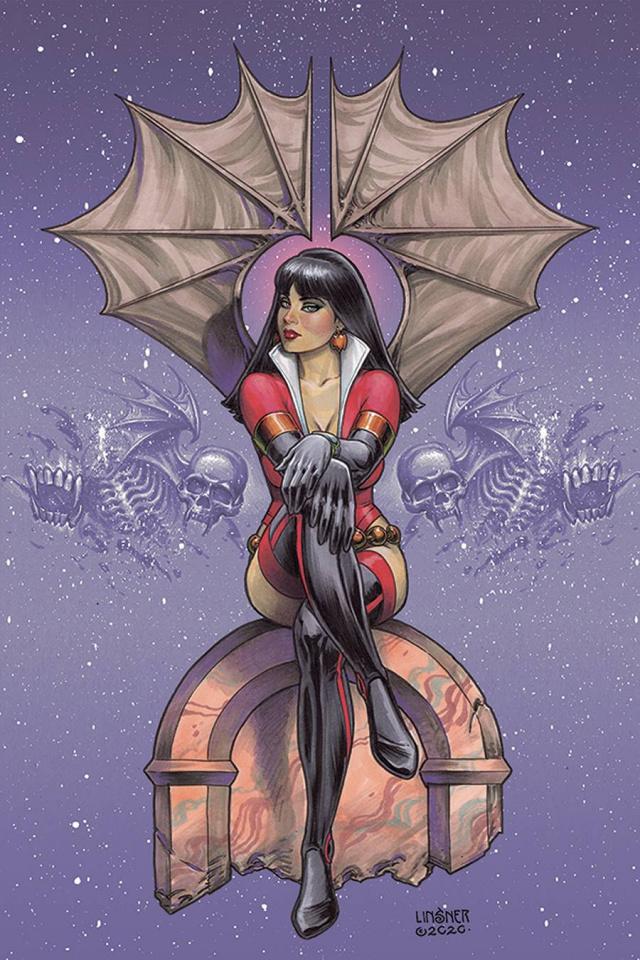 Vampirella: The Dark Powers #2 (Linsner Virgin Cover)