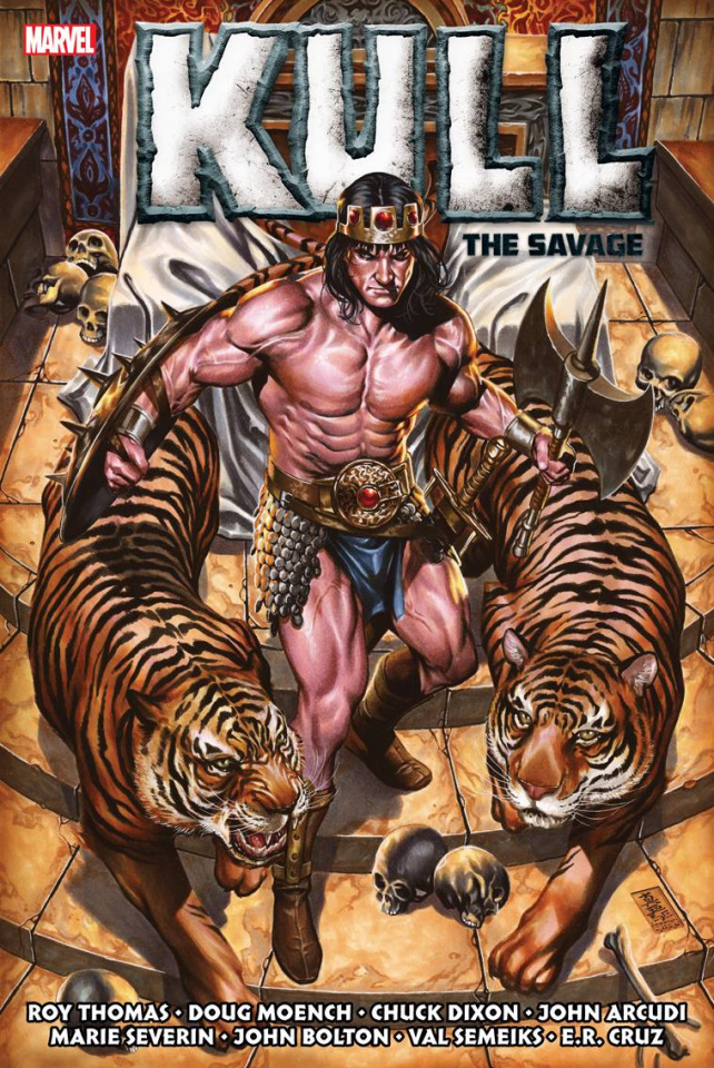 Kull the Savage: The Original Marvel Years (Omnibus Brooks Cover)