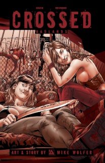 Crossed: Badlands #86 (Red Crossed Cover)