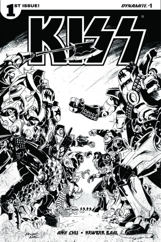KISS #1 (10 Copy Baal B&W Cover)
