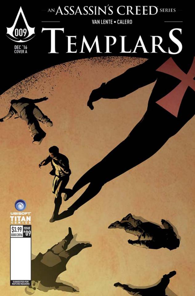 Assassin's Creed: Templars #9 (Calero Cover)