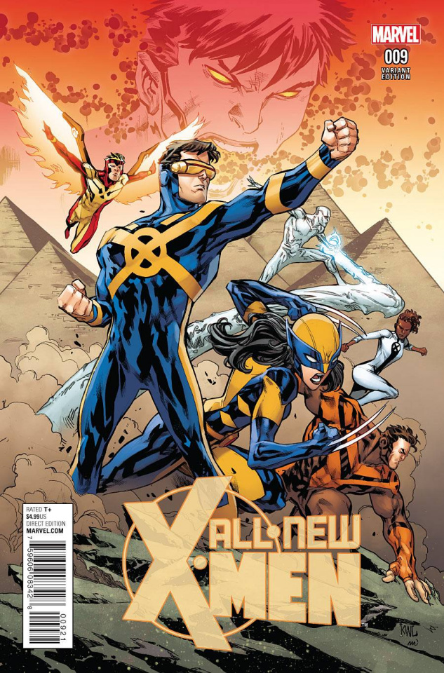 All-New X-Men #9 (Lashley Connecting Cover)