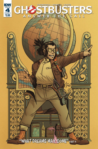 Ghostbusters: Answer the Call #4 (Howell Cover)