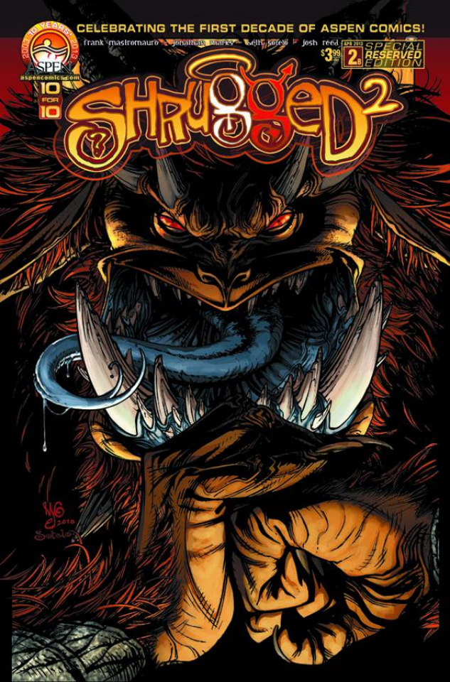 Shrugged #2 (Reserved Cover)