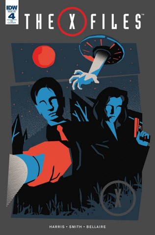 The X-Files #4 (10 Copy Cover)