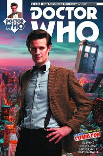 Doctor Who: New Adventures with the Eleventh Doctor #1 (NYCC Cover)