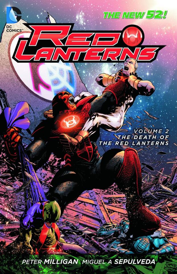 Red Lanterns Vol. 2: The Death of Red Lanterns