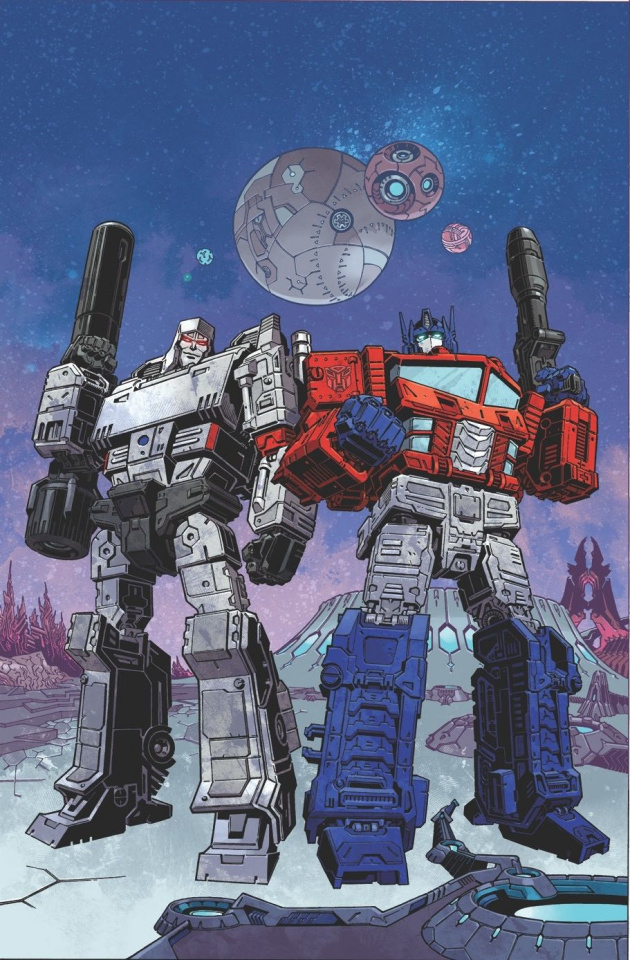 The Transformers #1 (Rodriguez Cover)