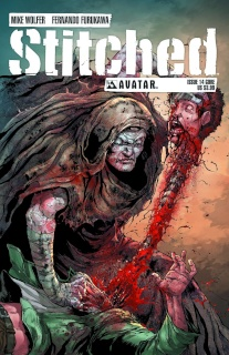 Stitched #14 (Gore Cover)