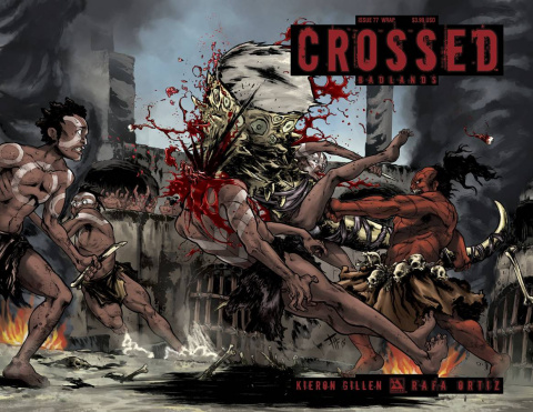 Crossed: Badlands #77 (Wrap Cover)