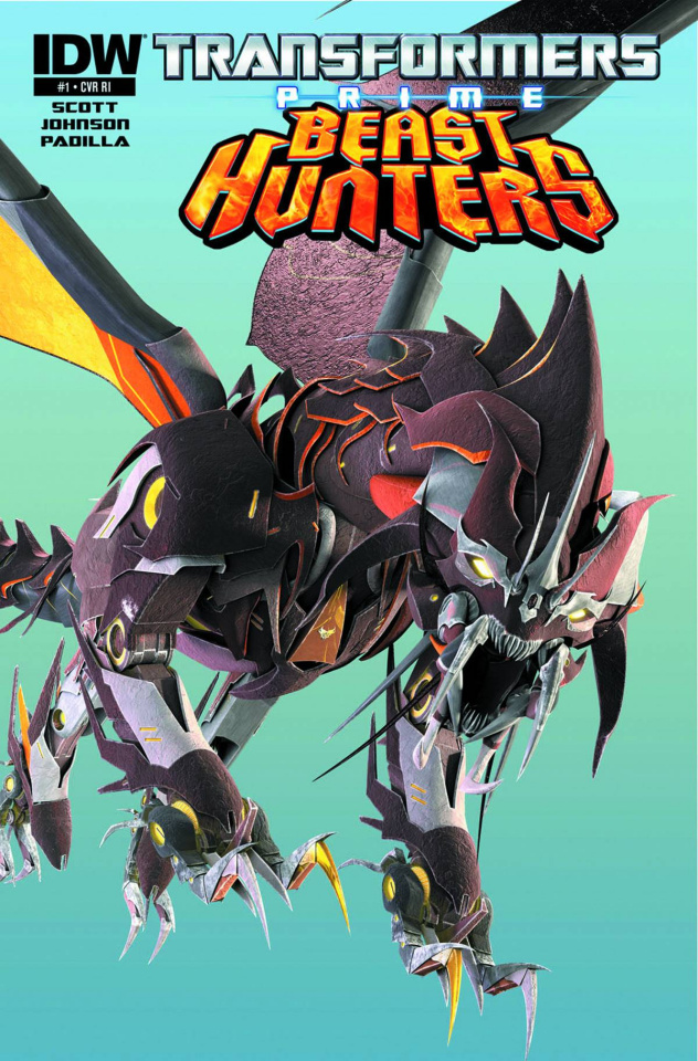 Transformers Prime: Beast Hunters #1 (25 Copy Cover)