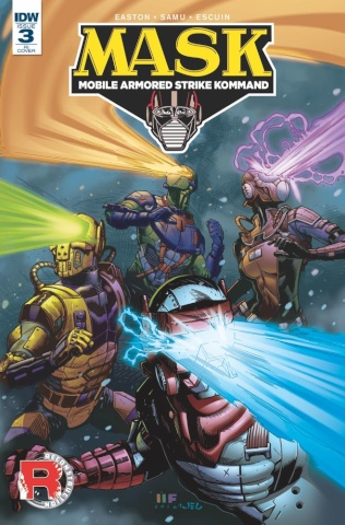 M.A.S.K.: Mobile Armored Strike Kommand #3 (10 Copy Cover)