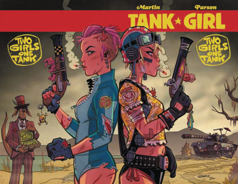 Tank Girl: Two Girls, One Tank #4 (Parsons Cover)